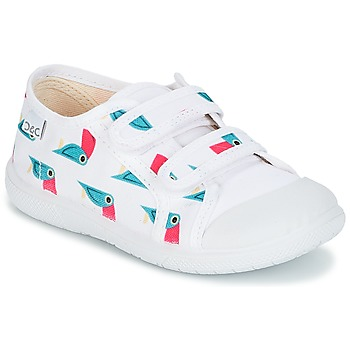 Sko Pige Lave sneakers Citrouille et Compagnie GLASSIA Hvid