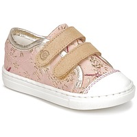 Sko Pige Lave sneakers Citrouille et Compagnie INACUFI Pink / Guld