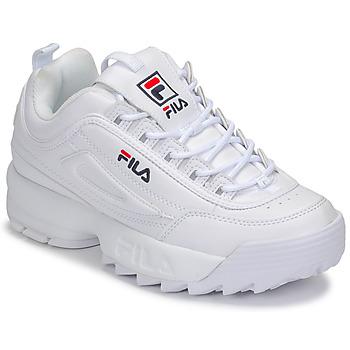 Sko Dame Lave sneakers Fila DISRUPTOR LOW WMN Hvid