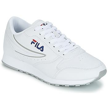 Sko Dame Lave sneakers Fila ORBIT LOW WMN Hvid