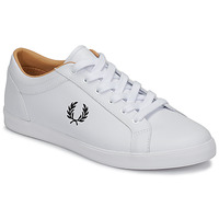 Sko Herre Lave sneakers Fred Perry BASELINE LEATHER Hvid