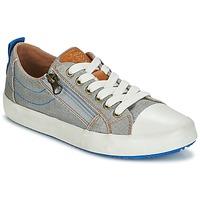 Sko Dreng Lave sneakers Geox J ALONISSO B. D Grå / Blå
