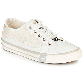 Sko Dame Lave sneakers Mustang ROULIA Hvid