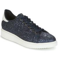 Sko Dame Lave sneakers Geox D THYMAR C Blå / Hvid
