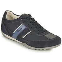 Sko Herre Lave sneakers Geox U WELLS C Blå