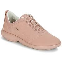 Sko Dame Lave sneakers Geox NEBULA Pink