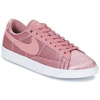 Sko Dame Lave sneakers Nike BLAZER LOW SE W Pink