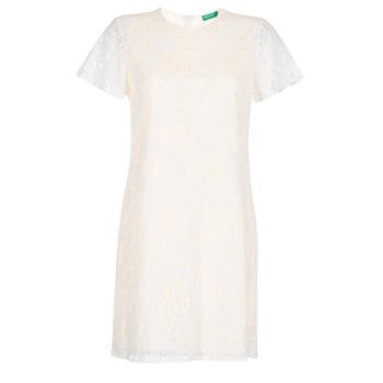 textil Dame Korte kjoler Benetton PRISTOUC Blå