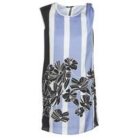 textil Dame Korte kjoler Sisley LAPOLLA Blå / Hvid / Sort