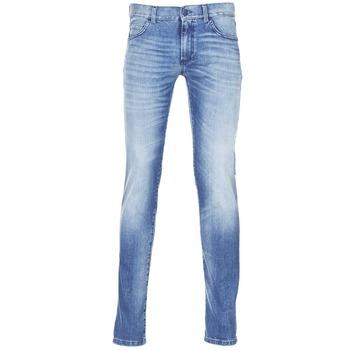 textil Herre Smalle jeans Sisley BURLUDU Blå / Medium