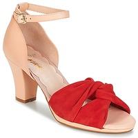 Sko Dame Sandaler Miss L'Fire EVIE Rød / Pink