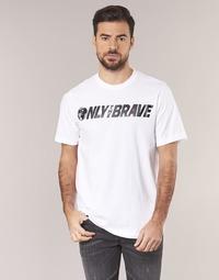 textil Herre T-shirts m. korte ærmer Diesel T JUST SV Hvid