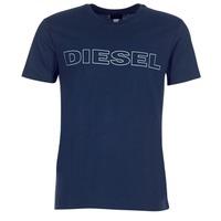textil Herre T-shirts m. korte ærmer Diesel JAKE Marineblå