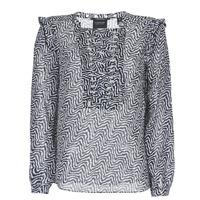 textil Dame Toppe / Bluser Scotch & Soda OLZAKD Sort / Hvid