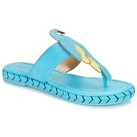 Sko Dame Flip flops Katy Perry THE YASUNI Blå