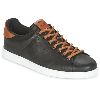 Sko Herre Lave sneakers Victoria DEPORTIVO PU CONTRASTE Sort