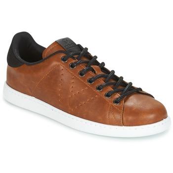 Sko Herre Lave sneakers Victoria DEPORTIVO PU CONTRASTE Brun