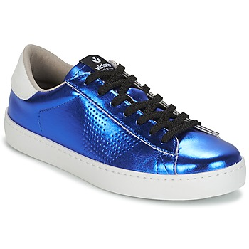 Sko Dame Lave sneakers Victoria DEPORTIVO METALIZADO Blå