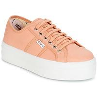 Sko Dame Lave sneakers Victoria BLUCHER LONA PLATAFORMA Orange