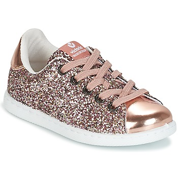 Sko Pige Lave sneakers Victoria DEPORTIVO GLITTER KID Pink