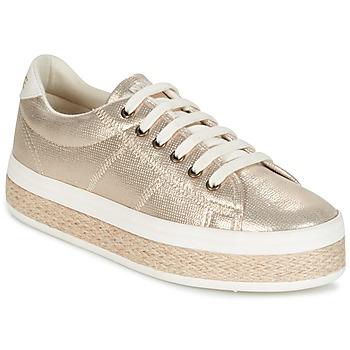 Sko Dame Lave sneakers No Name MALIBU GLOW Guld