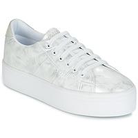Sko Dame Lave sneakers No Name PLATO SNEAKER Sølv