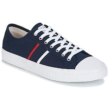 Sko Herre Lave sneakers Jim Rickey TROPHY Marineblå / Rød / Hvid