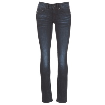 textil Dame Lige jeans G-Star Raw MIDGE SADDLE MID STRAIGHT Rink