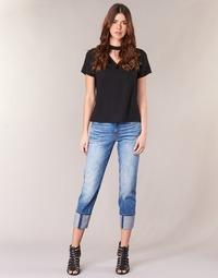 textil Dame Jeans - 3/4 & 7/8 G-Star Raw LANC 3D HIGH STRAIGHT 11ozsena
