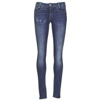 textil Dame Jeans - skinny G-Star Raw D-STAQ 5 PKT MID SKINNY Medium / Ældet / Restored