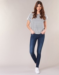 textil Dame Jeans - skinny G-Star Raw MIDGE ZIP MID SKINNY Neutral