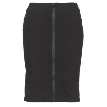 textil Dame Nederdele G-Star Raw LYNN LUNAR HIGH SLIM SKIRT Sort