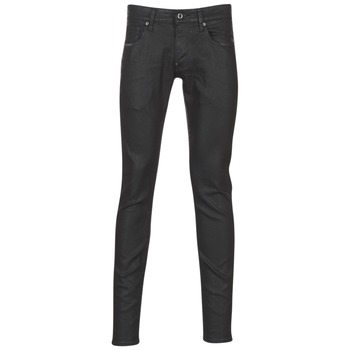 textil Herre Jeans - skinny G-Star Raw REVEND SUPER SLIM Sort