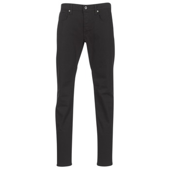 textil Herre Smalle jeans G-Star Raw 3301 SLIM Sort
