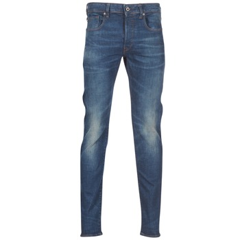 textil Herre Smalle jeans G-Star Raw 3301 SLIM Blå