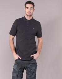 textil Herre Polo-t-shirts m. korte ærmer G-Star Raw DUNDA POLO S/S Sort