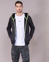 textil Herre Sweatshirts G-Star Raw STRETT SLIM HOODED ZIP THRU SW L/S Sort