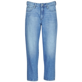 textil Dame Jeans - boyfriend G-Star Raw 3301 HIGH BOYFRIEND 7/8 WMN Lys / Ældet / Small / Destroy