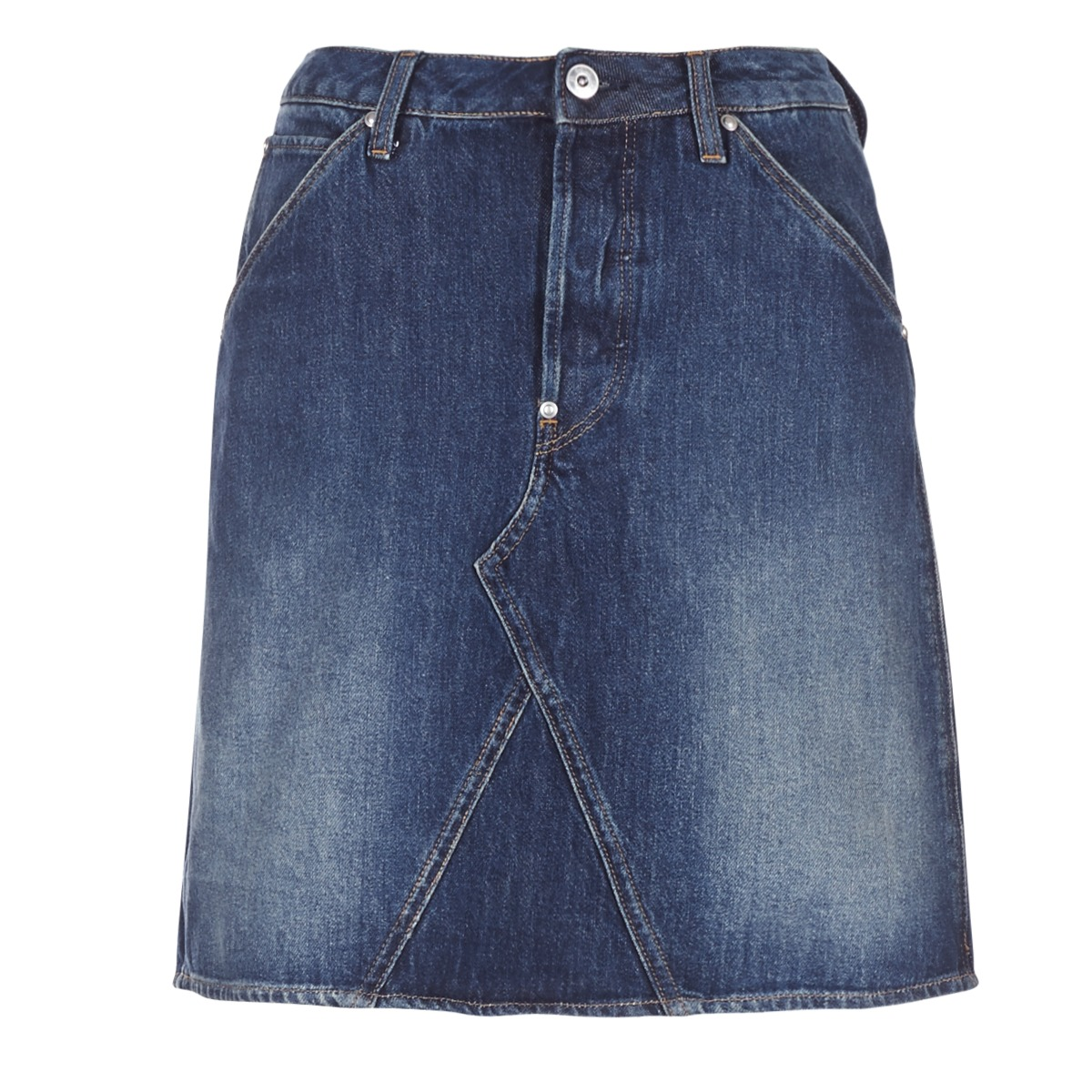 Korte nederdele G-Star Raw  5622 CUSTOM A-LINE SKIRT