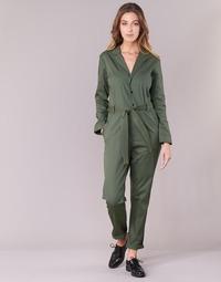 textil Dame Buksedragter / Overalls G-Star Raw DELINE JUMPSUIT WMN L/S Kaki