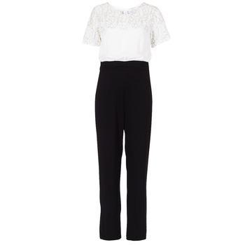 textil Dame Buksedragter / Overalls Molly Bracken YURITOE Sort / Hvid