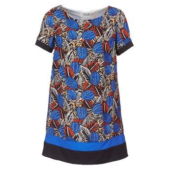 textil Dame Korte kjoler Molly Bracken JUNCE Blå
