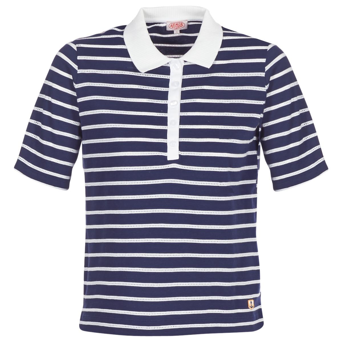 Polo-t-shirts m. korte ærmer Armor Lux  POLAED