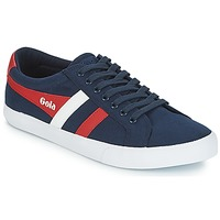 Sko Herre Lave sneakers Gola VARSITY Marineblå / Hvid / Rød