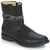 Sko Pige Chikke støvler GBB MAFALDA Vts / Sort / Dpf / Emma