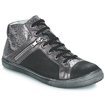 Sko Pige Chikke støvler GBB KAMI Vts / Sort-sølv / Dpf / Basket