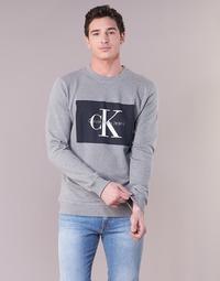 textil Herre Sweatshirts Calvin Klein Jeans HOTORO REGULAR Grå