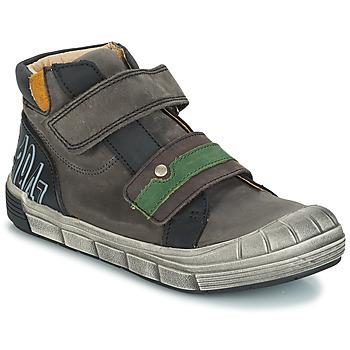 Sko Dreng Høje sneakers GBB REMI Grå
