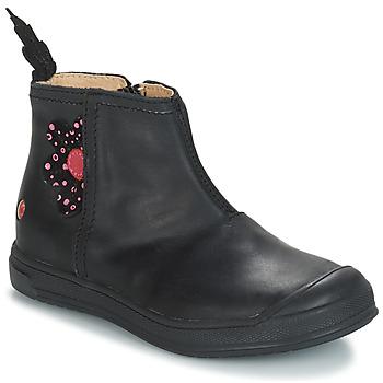 Sko Pige Chikke støvler GBB ROMANE Vte / Sort / Dpf / Edit