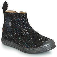 Sko Pige Chikke støvler GBB ROMANE Vte / Sort / Confetti / Dpf / Edit